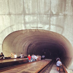 Photo taken at Dupont Circle Metro Station by Jon M. on 8/20/2012