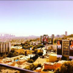 Photo taken at Mondrian Hotel by Michael G. on 6/19/2012