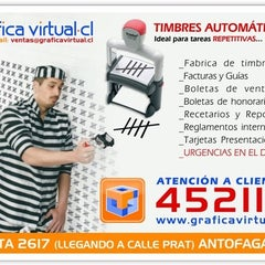 Photo taken at GRAFICA VIRTUAL.CL by HOLA Timbres Store on 6/13/2012