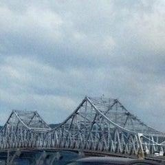 Photo taken at Tappan Zee Bridge by Alex on 7/27/2012