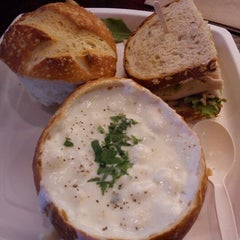 Photo taken at Boudin SF Metro Pointe by Chaos L. on 2/18/2012