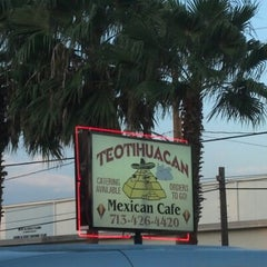 Photo taken at Teotihuacan Mexican Cafe by Claudia C. on 9/1/2012