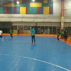 Photo taken at Gool Futsal Mangga Dua by Aziz H. on 5/25/2012