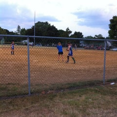 Photo taken at Little League Park by Gina B. on 7/6/2012