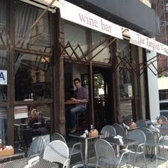 Photo taken at The Tangled Vine Wine Bar & Kitchen by Allison B. on 5/27/2012