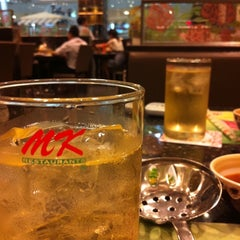 Photo taken at MK (เอ็มเค) by Aey L. on 3/3/2012