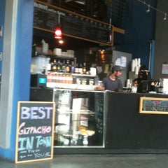 Photo taken at Trabant Coffee & Chai by Kate F. on 4/27/2012
