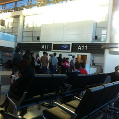 Photo taken at Gate A11 by CHEAP C. on 6/4/2012