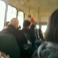 Photo taken at Chinatown Bus (Flushing) by Alyssa D. on 3/17/2012
