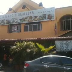 Photo taken at Restoran Soto Shah Alam by AidaSue on 7/6/2012