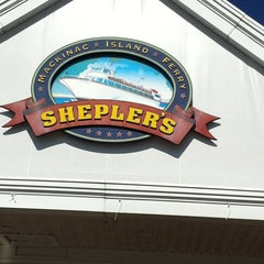 Photo taken at Shepler's Mackinac Island Ferry by Summer L. on 5/10/2012