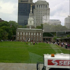 Photo taken at The President's House Site by Sunny Y. on 8/25/2012