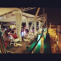 Photo taken at Hi-Res Restaurant & Terrace Lounge by Antonio M. on 9/10/2012