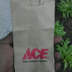 Photo taken at Ace Hardware by Kam'ron D. on 4/30/2012