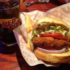 Photo taken at Red Robin Gourmet Burgers by Christopher L. on 3/29/2012