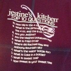 Photo taken at Jestine's Kitchen by Ashley C. on 4/22/2012