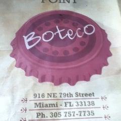 Photo taken at Boteco Miami by aline u. on 2/26/2012