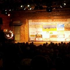 Photo taken at Pickleville Playhouse by Scott K. on 7/6/2012