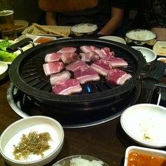 Photo taken at Don's Bogam Korean BBQ & Wine by John D. on 2/25/2012