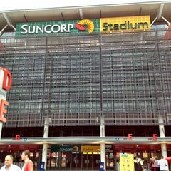 Photo taken at Suncorp Stadium by chris c. on 3/3/2012