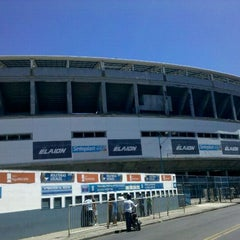 Photo taken at Estadio Juan Domingo Perón (Racing Club) by Jorejo G. on 2/26/2012