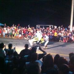 Photo taken at Posto Praia do Meio by Carlos on 8/25/2012