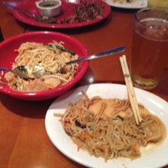 Photo taken at Pei Wei by Erica D. on 6/16/2012