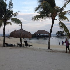 Photo taken at Bluewater Maribago Beach Resort by Arnel C. on 8/2/2012