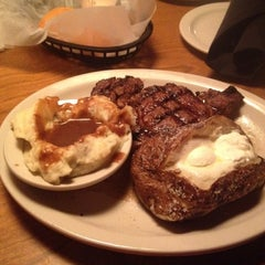 Photo taken at Texas Roadhouse by Courtney B. on 3/4/2012