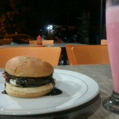Photo taken at Gaboh Grill Burger by Cindy M. on 7/17/2012