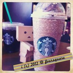 Photo taken at Starbucks by 💕i /@yumyum.in.the.tumtum on 7/20/2012