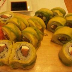 Photo taken at Sushihana by Trei Alejandra B. on 5/29/2012