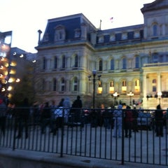 Photo taken at Baltimore City Hall by @blk_mamba21 on 3/26/2012