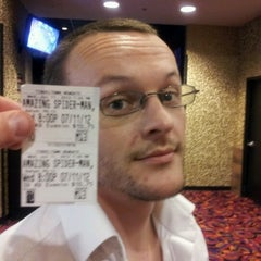 Photo taken at Cinemark Tinseltown 14 - Newgate by Mike K. on 7/12/2012