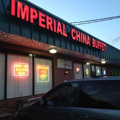 Photo taken at Imperial China Buffet by Missi R. on 4/8/2012