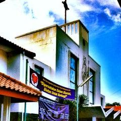 Photo taken at Gereja St Robertus Bellarminus Cililitan by Antolesius T. on 3/25/2012