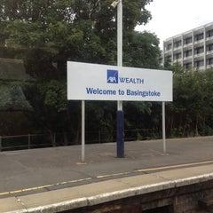 Photo taken at Basingstoke Railway Station (BSK) by Casper M. on 8/24/2012
