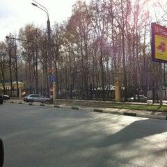 Photo taken at Medisinski Bus Stop by Ivan J. on 4/24/2012