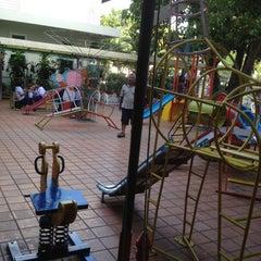Photo taken at สนามเด็กเล่น สุวรรณวงศ์ by ชาย ข. on 6/14/2012