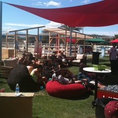 Photo taken at KROQ Coachella House 2012 by Sue R. on 4/14/2012