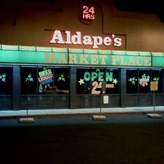 Photo taken at Aldapes Market Place by Samuel M. on 3/10/2012