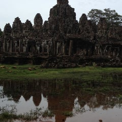 Photo taken at Le Méridien Angkor by David A. on 7/18/2012