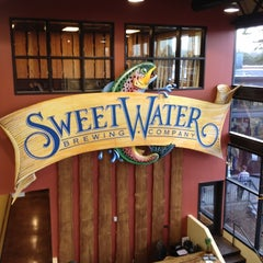 Photo taken at SweetWater Brewing Company by Chad E. on 3/16/2012