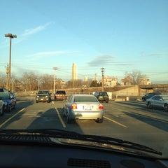 Photo taken at Megabus stop by Jamelyn D. on 2/27/2012