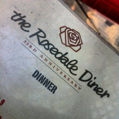 Photo taken at The Rosedale Diner by Joe M. on 5/4/2012