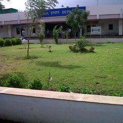 Photo taken at Rajkot Airport (RAJ) by Jeet R. on 7/5/2012