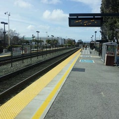 Photo taken at Hillsdale Caltrain Station by Rex C. on 3/18/2012