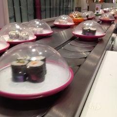 Photo taken at Pink Sushiman by Jon R. on 3/21/2012