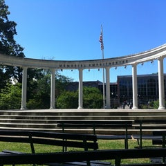 Photo taken at Memorial Amphitheater by Dallas M. on 4/18/2012