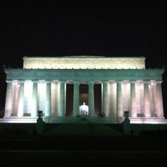 Photo taken at Lincoln Memorial by Michelle on 8/22/2012